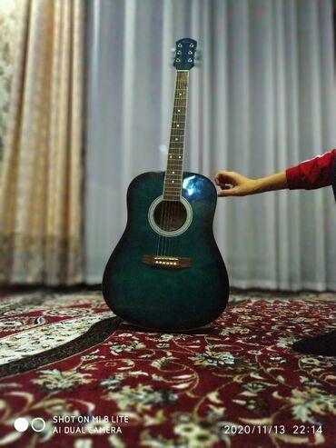 летнее платье в пол большого размера в Кыргызстан: Продаю гитара акустическая размер большой