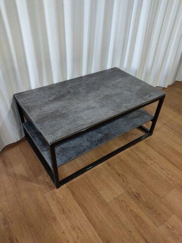 Журнальный столик в стиле лофт 100х60х45  Стол Эмерек 312 Мебель