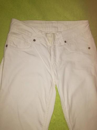 Bele-siroke-pantalone - Srbija: Bele pantalone, vel. 36