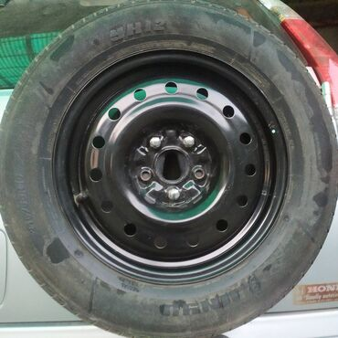 железные диски на 15 в Кыргызстан: Куплю 1 диск железный на запаску R-15 на ХОНДА СРВ ((205х75х15))