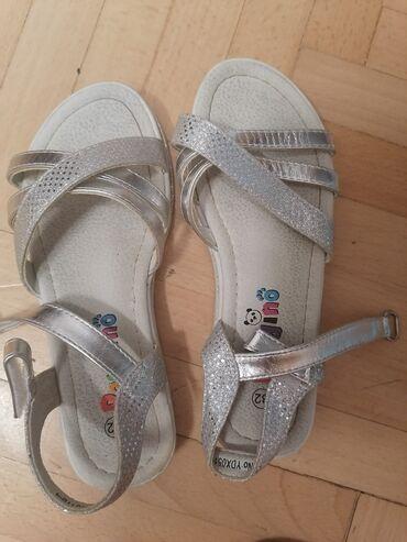 Pandino, sandale za devojcice, malo nošene, kao nove, veličina 32