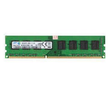 server - Azərbaycan: RAM SERVER SAMSUNG DDR3 8Gb 12800E - (1600 Mhz) Mağazalar üçün xüsusi