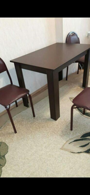 ENDİRİM edildi.4 ədəd stul ve stol ilə birlikdə 130 azn.Ünvan