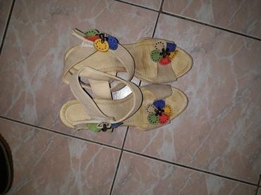 Ocuvane sandale vel.39,platforma 4cm/13cm,duz.gazista 25 cm - Smederevo