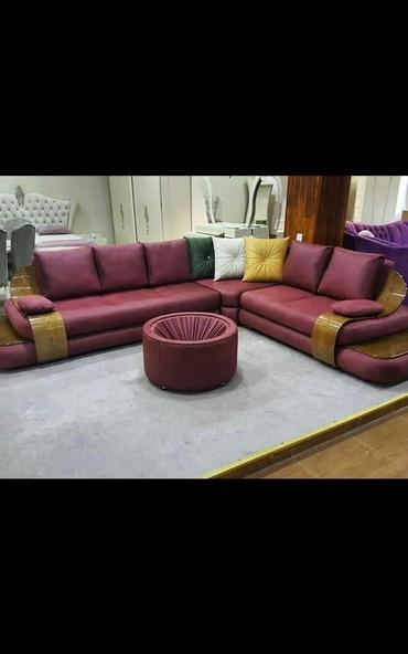 Bakı şəhərində Kunc divan divanlar Fabrik istehsali original.pufikle birlikde.