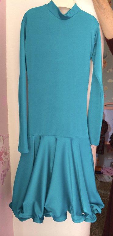 рейтинговое платье (спортивные бальные танцы)  на 6-7-8-9лет на худень в Бишкек