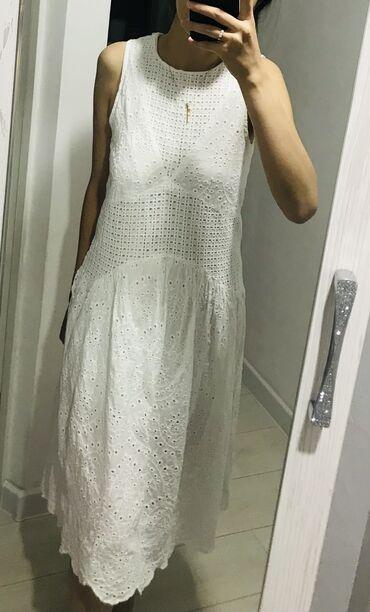 Продаю хлопковое платье  Одевала 1 раз Размер-S