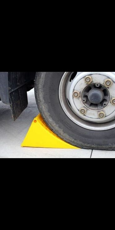 Транспорт - Кара-куль: Противооткатная опора для грузового авто