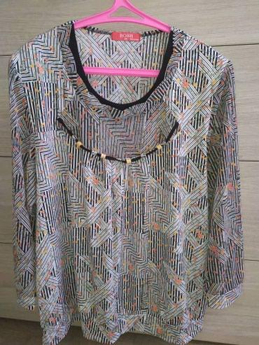 женская-блуза в Кыргызстан: Продаю женскую кофту в идеальном состоянии,Корея,размер 52-54