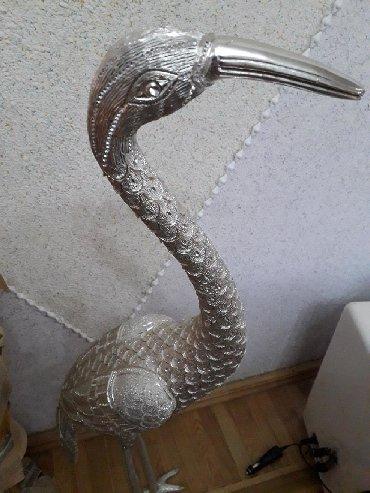 bulbul qusu - Azərbaycan: Qu quşu .suvenir 90 sm.agır çuqundu.üzeri qaşlarla bezedilib
