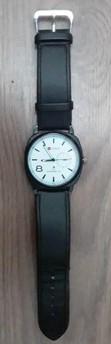 curren 8158 в Кыргызстан: Черные Мужские Наручные часы Curren