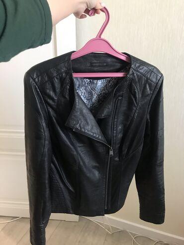 Женская одежда - Чон-Таш: Продается новая кожаная куртка 48 размера(RU). Турция. Состояние