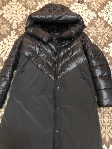джинсовый корсет в Кыргызстан: Пуховик (графит)холофайбер44р (почти не носила) качество супер!!!  Ро