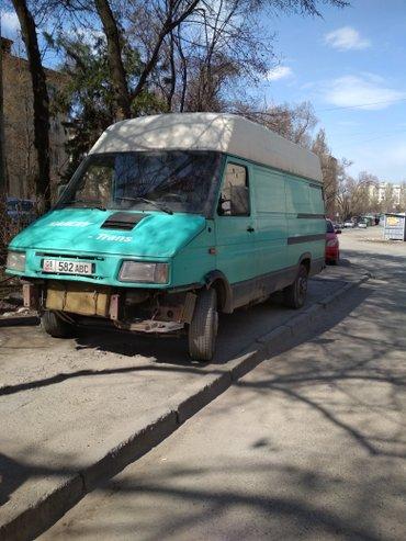 продаю бус ивеко. цвет зелёный, состояние-требует вложений. на ходу. в Бишкек