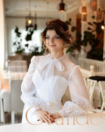 свадебные платья in Кыргызстан   КОНДИТЕРСКИЕ ИЗДЕЛИЯ, СЛАДОСТИ: Элегантное, стильное нежное свадебное платье в наличии в нашем