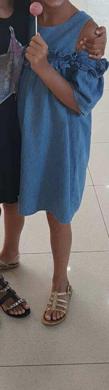 Zara texas haljinica, 11-12, 152cm, za devojčice