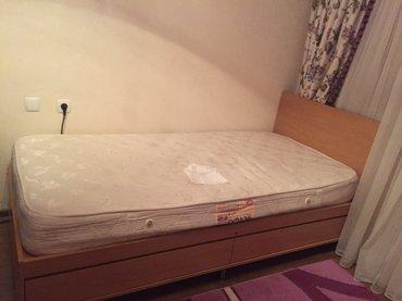 Срочно! Продается кровать , с матрасом. в Бишкек