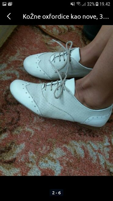 Ostalo - Sokobanja: Kožne cipele bez oštećenja. Lagane i udobne.meni su male.pogledajte i