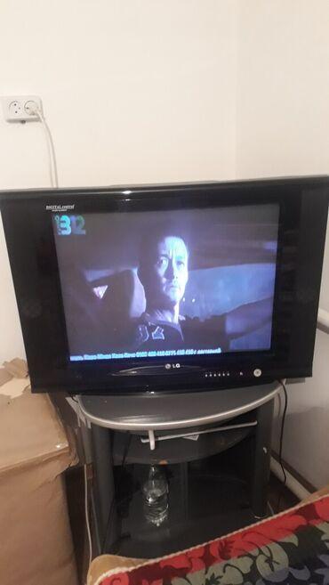ТВ и видео - Беловодское: Продаю телевизор с подставкой и санарип антенной 4000 сом