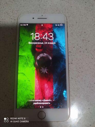 İşlənmiş iPhone 8 Plus 64 GB Qızılı