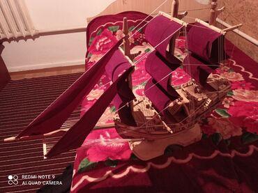 Модели кораблей - Бишкек: Продаю сувенирный корабль за 3000сом длина 1 метр ручная работа+