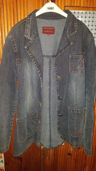 синий пиджак женский в Кыргызстан: Пиджак женский. джинсовый в отличном состоянии. фирменный. размер l