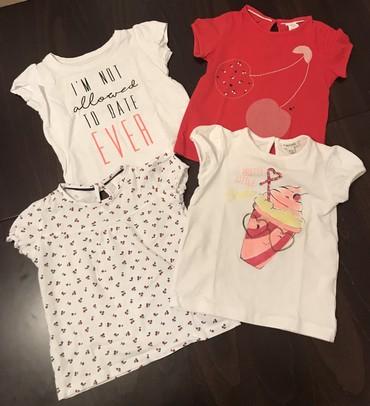 Majcice za devojcice, velicina 12-18 meseci. - Crvenka