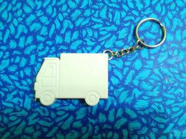 Ostalo za kuću | Pozarevac: Privezak za ključeve kamionče sa metrom na izvlačenje od tvrde
