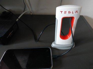 Mobilni telefoni - Kucevo: Tesla punjac-stanica(replika) punjac dolazi bez kabla,vas kabl se