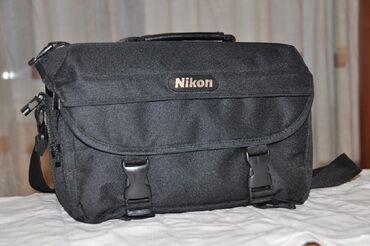 Сумки и чехлы в Кыргызстан: Сумка Nikon оригинальная Новая, очень вместительная  Canon, Nikon