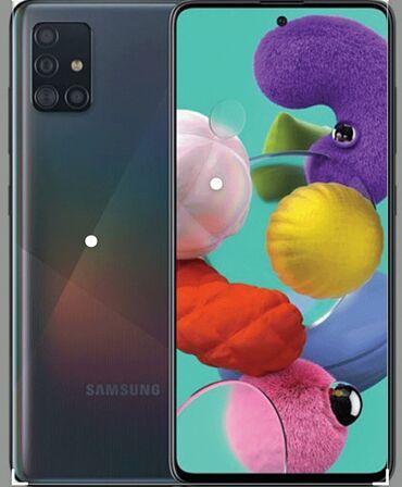 Samsung s 5 - Azərbaycan: Yeni Samsung A51 128 GB Göy