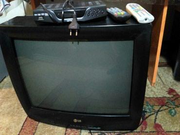 Отличный телевизор с приставкой в Лебединовка