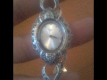 Серебряный женские часы 925 пробы идеяльном состоянии  в Бишкек