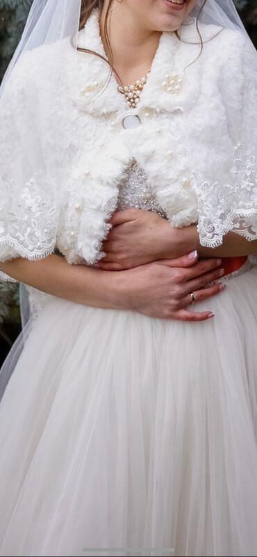 свадебные платья in Кыргызстан   КОНДИТЕРСКИЕ ИЗДЕЛИЯ, СЛАДОСТИ: Продаю свадебное платье вышито все в ручную. Изготовлено на заказ