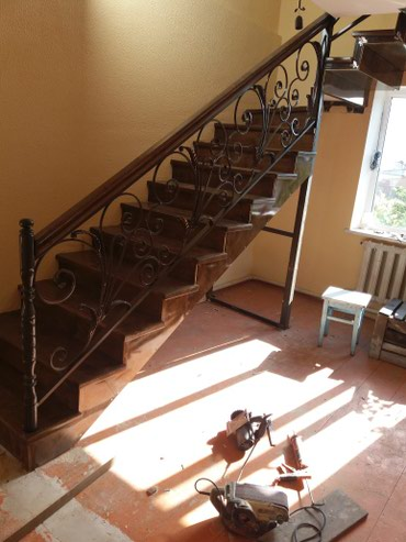 Лестницы из металлокаркаса в Каракол