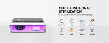 Многофункциональный уф стерилизатор для телефона, создан для