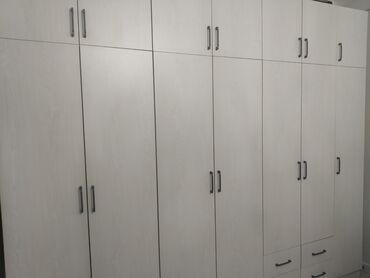 Флипчарты 120 х 225 см лаковые - Кыргызстан: Продаю шкаф 2,85м х 2,5м х 0,5м. Шкаф из российского ЛДСП, качество от