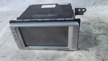 Магнитола Toyota Wish ANE10 1AZFE 2003  полный комплект: камера