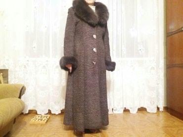 Зимнее пальто. Размер 46-48. Практически новое. в Бишкек