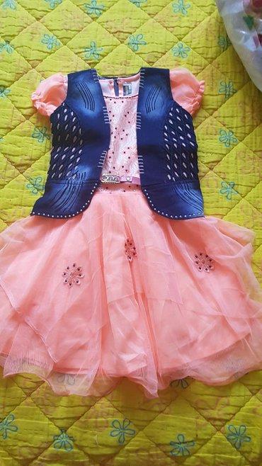 Dečija odeća i obuća - Majdanpek: Haljina za devojcice 5-6 godina.Kupljena u U.A.E.Nikad nije nosena