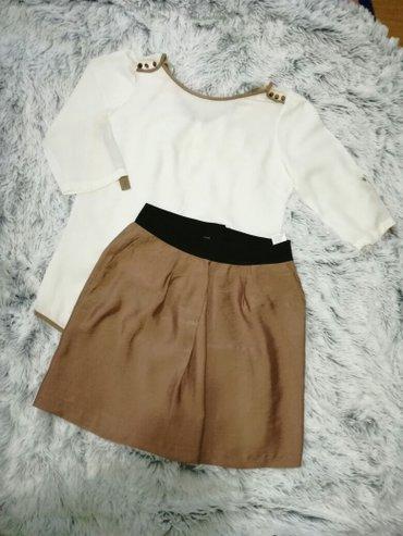 Suknja koton i bluzica kosuljica (nije koton ali je jako kvalitetna) - Smederevo