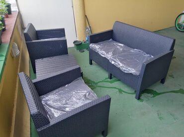 Barska stolica - Srbija: Baštenska garnitura Orlando Nova ne koriscena 27 000,00 fiksna cena
