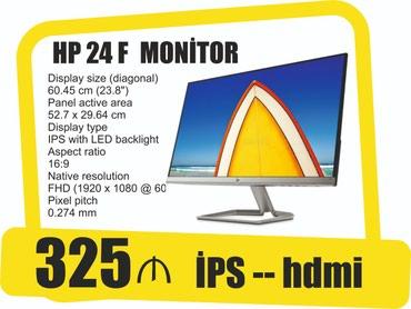 Bakı şəhərində Monitor HP 24F ips