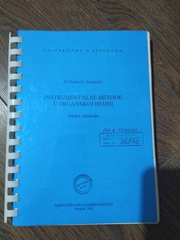 Instrumentalne metode za Tehnološko-metalurški fakultet