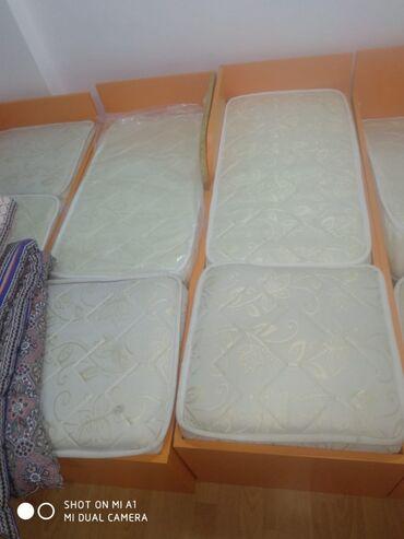 usaq yataqlari - Azərbaycan: Usaq baxcasinin yataqlari satılır, yeni kimidir, 10 ededdir. 65