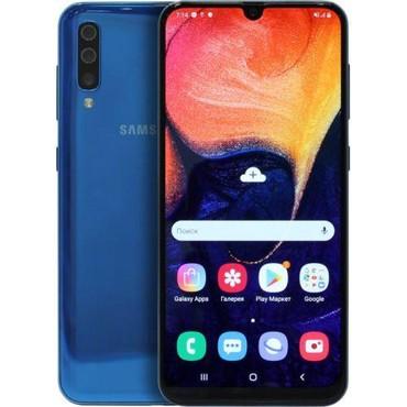 Samsung в Шеки: Б/у Samsung A50 128 ГБ Синий