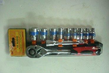 Gedora set mlg tools  jak i kvalitetan set gedora velicine od 8 do - Boljevac