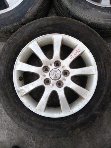Диски с резиной комплект. на Toyota window R16 5*114.3 в Бишкек