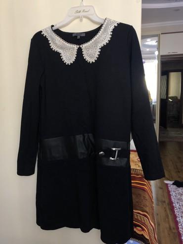 синее платье большого размера в Кыргызстан: Продаю платье. Классное,стильное. Как раз скоро уже начнется школа. Но