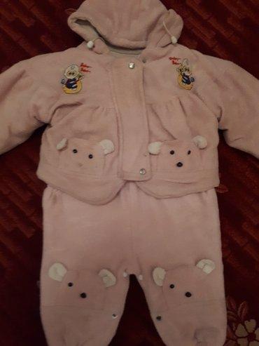 Продается детский утепленный комбинезон б/у в  хорошем состоянии.. под в Бишкек